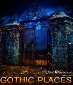 Gothic Places - 2D backgrounds 2D Graphics bonbonka