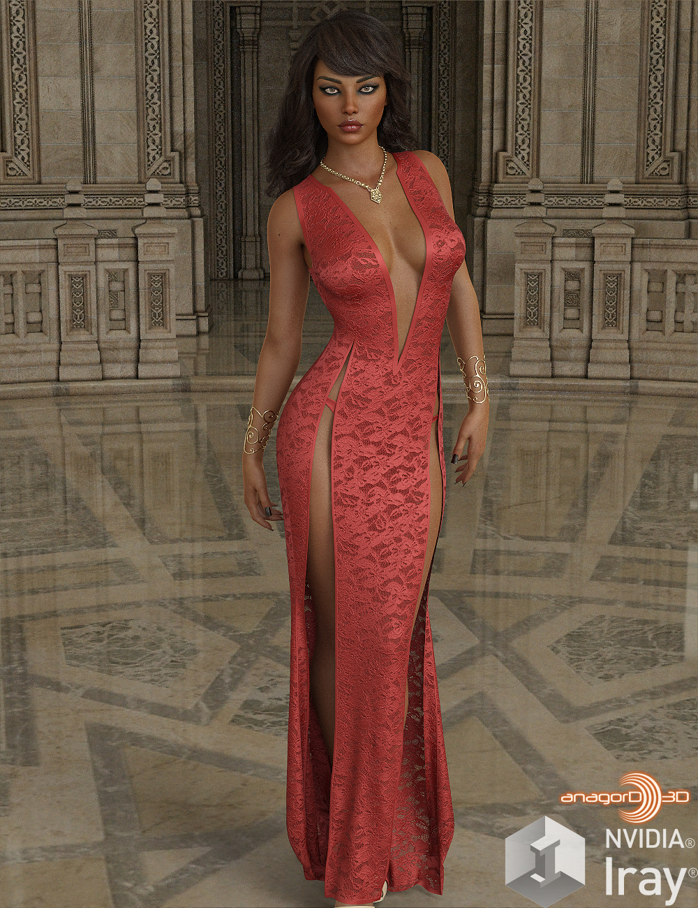 VERSUS - dforce SlowBurn Dress for G8F EXPANSION 2