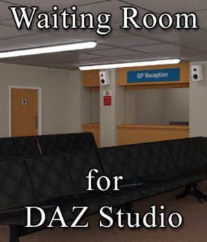 Waiting Room for DAZ Studio 3D Models VanishingPoint