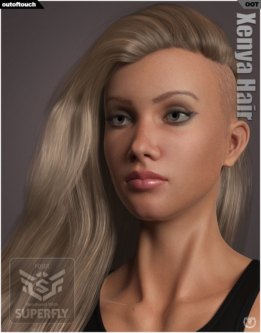 Xenya Hair for La Femme by outoftouch