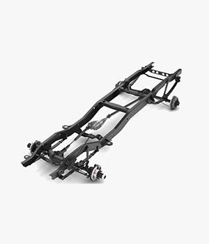 PICKUP TRUCK CHASSIS 4WD - Extended License 3D Models nnavas