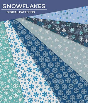 DP - Snowflakes 2D Graphics Merchant Resources Atenais