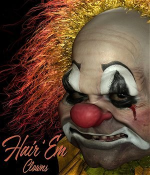 Poser HairEm 1 : Clowns  3D Figure Assets MortemVetus