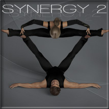 Synergy 2 - Poses for G3F-G8F image 2