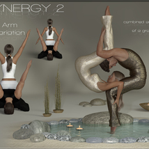 Synergy 2 - Poses for G3F-G8F image 3