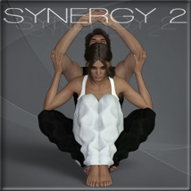 Synergy 2 - Poses for G3F-G8F image 4
