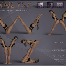 Synergy ABC - Poses for G3F-G8F image 4