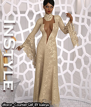 InStyle - dforce - Courtier G8F 3D Figure Assets -Valkyrie-