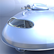 Pulp SciFi Flying Saucer image 6