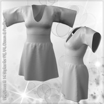 Eve Dress and 14 Styles for V4, PE, Dawn and Pauline image 11