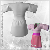 Eve Dress and 14 Styles for V4, PE, Dawn and Pauline image 12