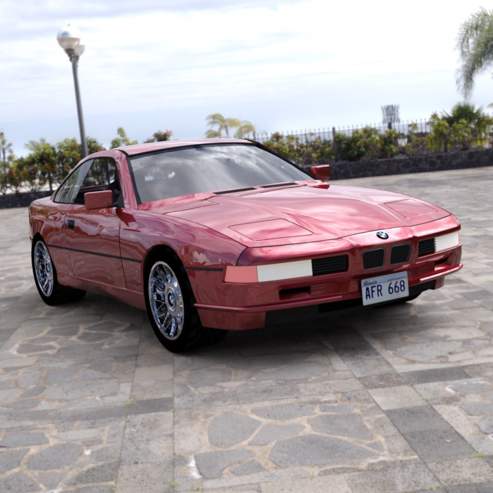 BMW 850 I for DAZ Studio