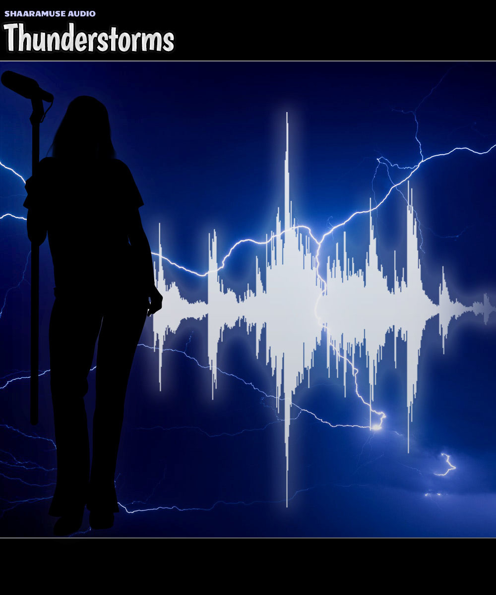 Shaaramuse Audio: Thunderstorms - Extended License by ShaaraMuse3D
