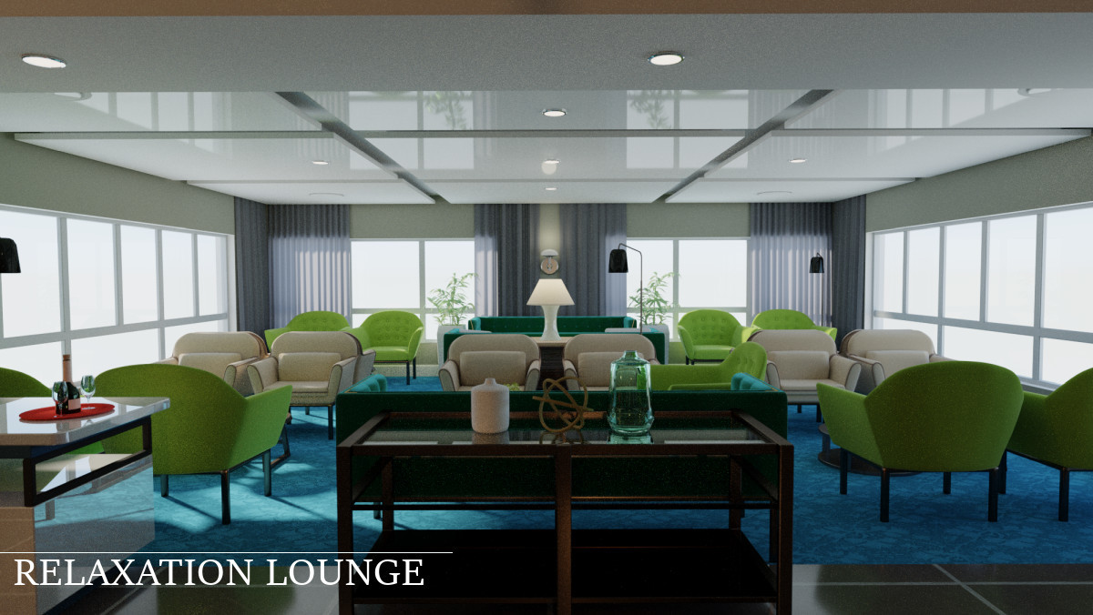 Relaxation Lounge by TruForm