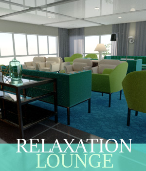 Relaxation Lounge 3D Models TruForm