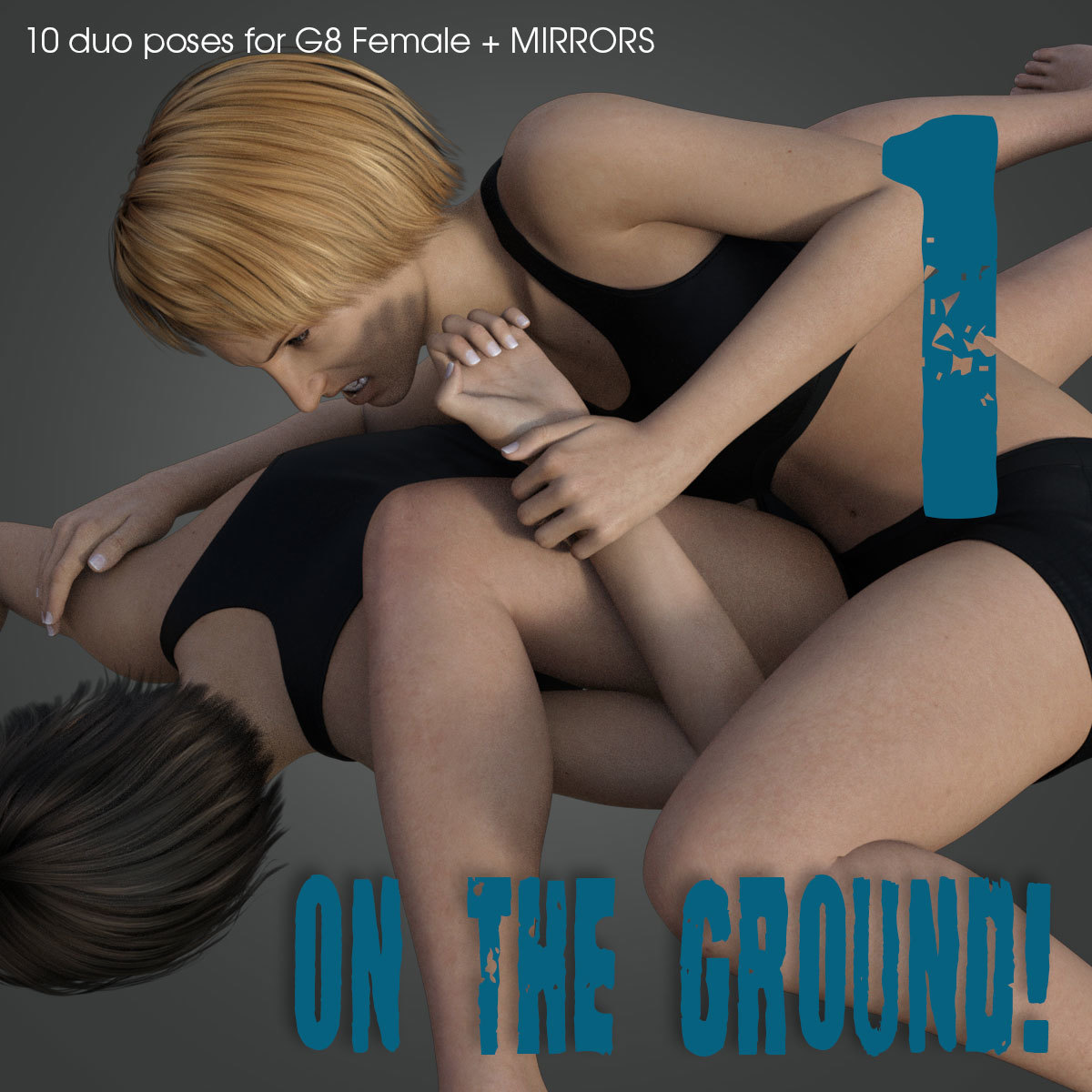 ON THE GROUND! vol.1 for Genesis 8 Female