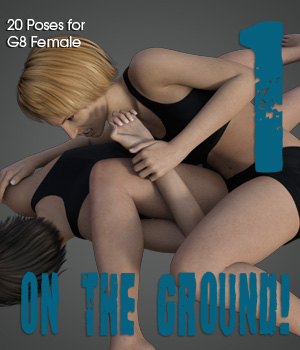 ON THE GROUND! vol.1 for Genesis 8 Female 3D Figure Assets PainMD