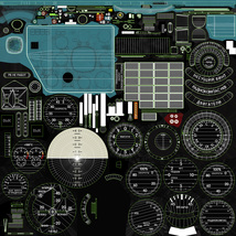Mi-8MT Mi-17MT Left Panels Board Russian -Extended License image 12