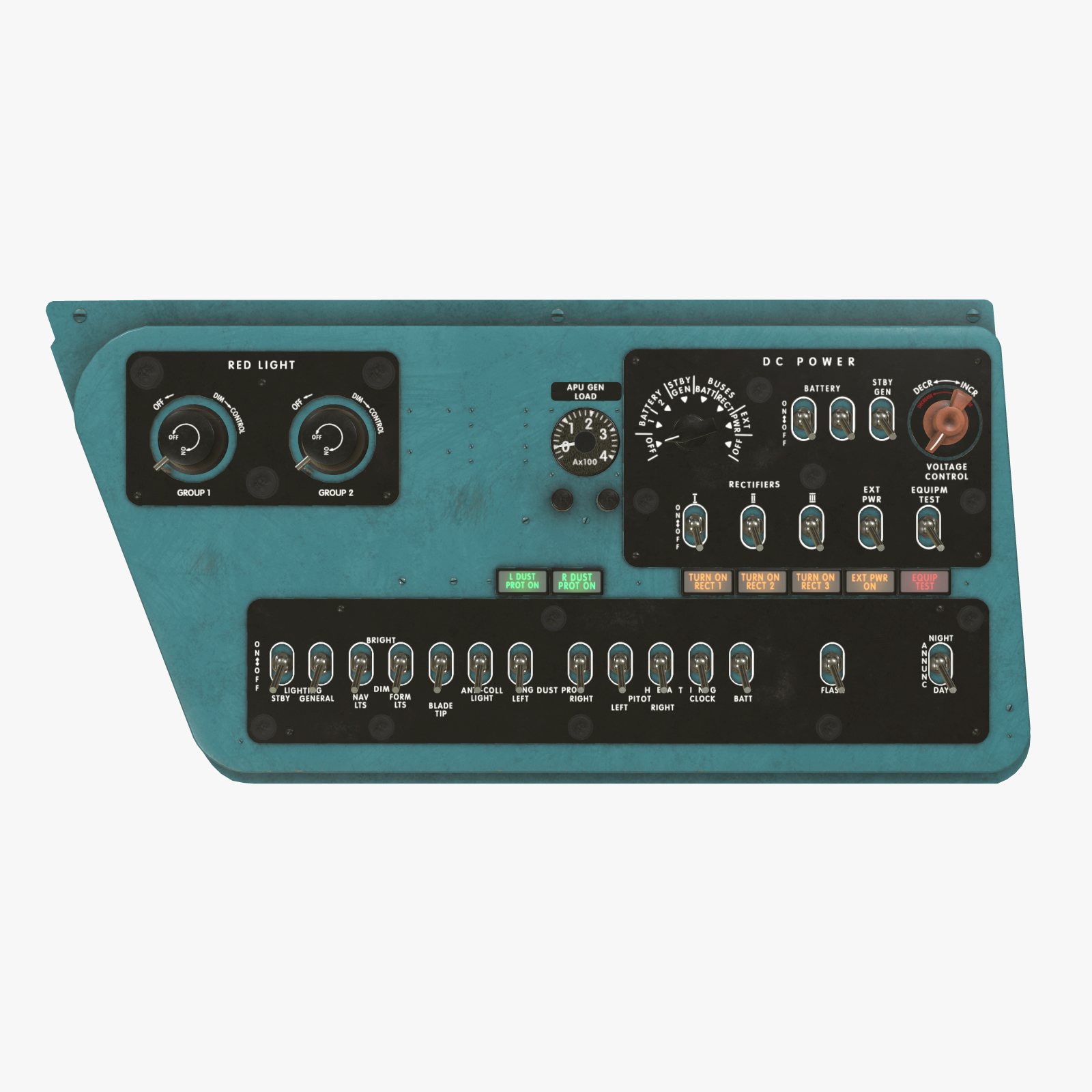 Mi-8MT Mi-17MT Right Side Console English - Extended License