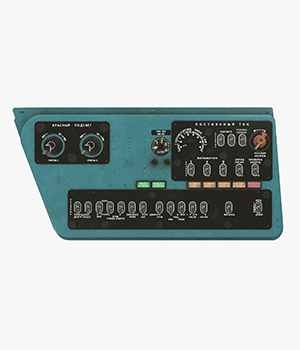 Mi-8MT Mi-17MT Right Side Console Russian - Extended LIcense 3D Game Models : OBJ : FBX 3D Models Extended Licenses pukamakara