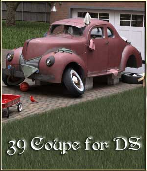 39 Coupe for DS 3D Models DreamlandModels