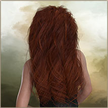 Kayla Hair For G3 G8 Daz image 7