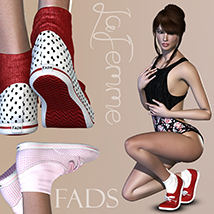 FADS Sneakers for La Femme and Poser 11 image 5