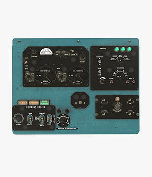 Mi-8MT Mi-17MT Right Overhead Panels Board English - Extended License 3D Game Models : OBJ : FBX 3D Models Extended Licenses pukamakara