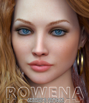 Rowena for Genesis 8 Female 3D Figure Assets Freja