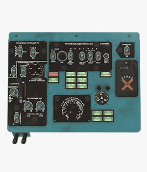 Mi-8MT Mi-17MT Left Overhead Panels Board Russian 2 - Extended License 3D Game Models : OBJ : FBX 3D Models Extended Licenses pukamakara