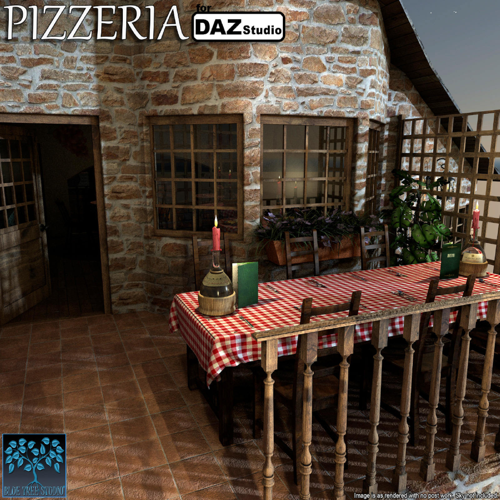 Pizzeria for Daz Studio