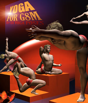 YOGA Poses for G8M 3D Figure Assets RajRaja