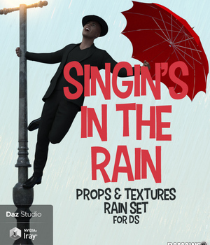 Singin in the Rain for DS 3D Models pamawo
