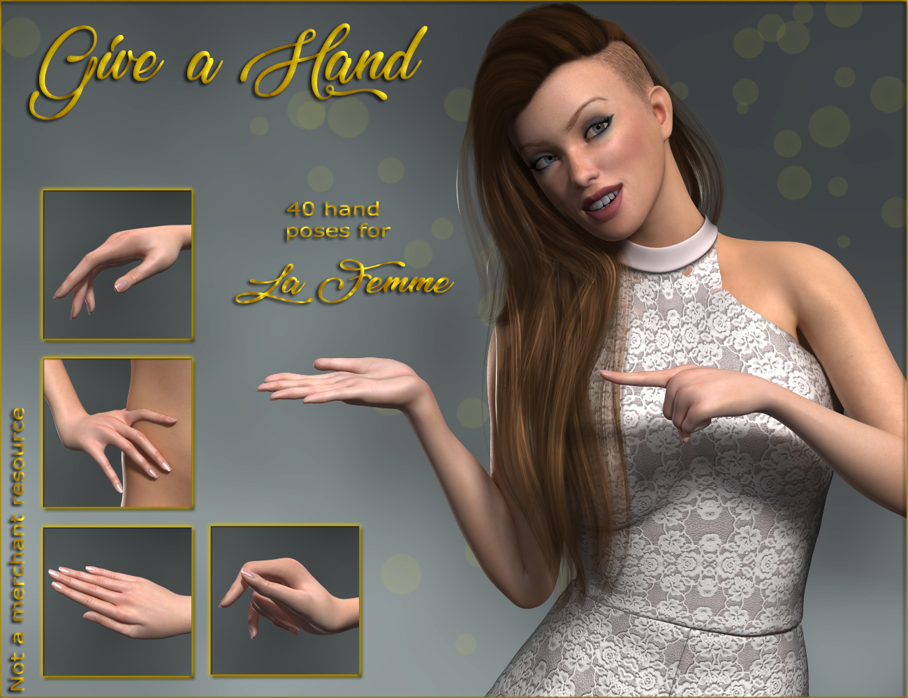 Give a Hand - Hands for La Femme by ilona