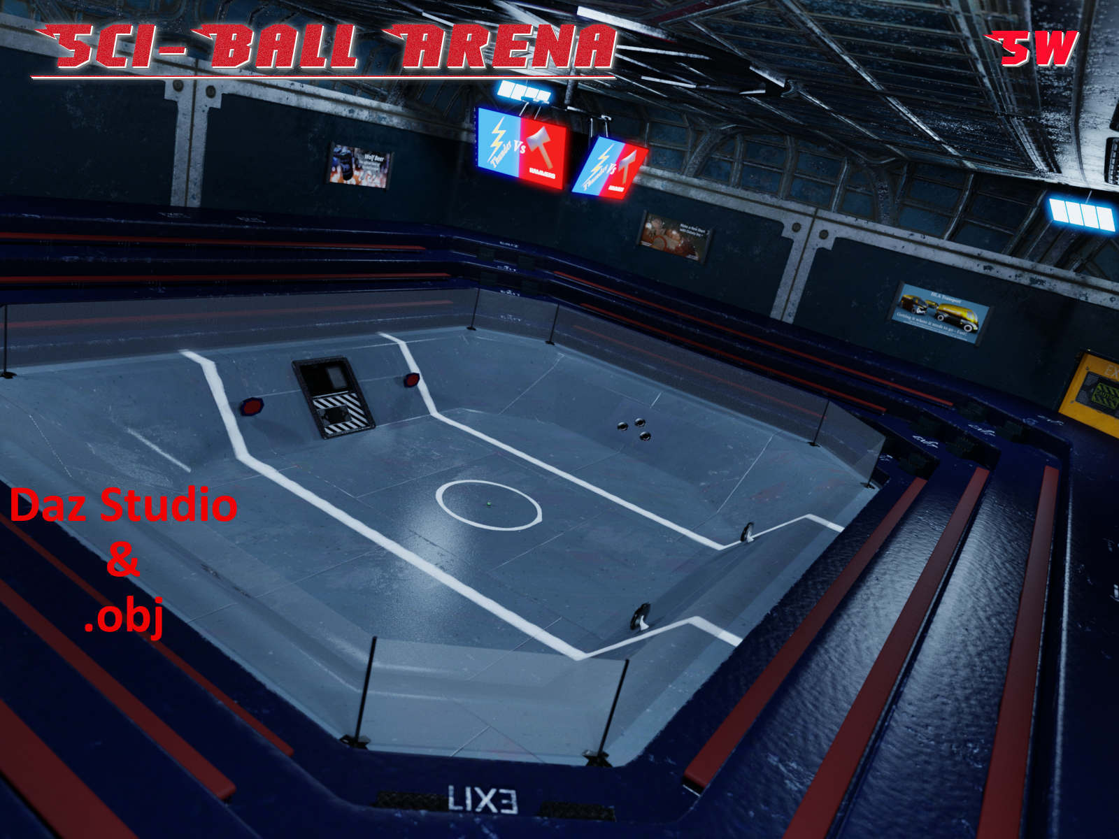 Sci-Ball Arena - SW