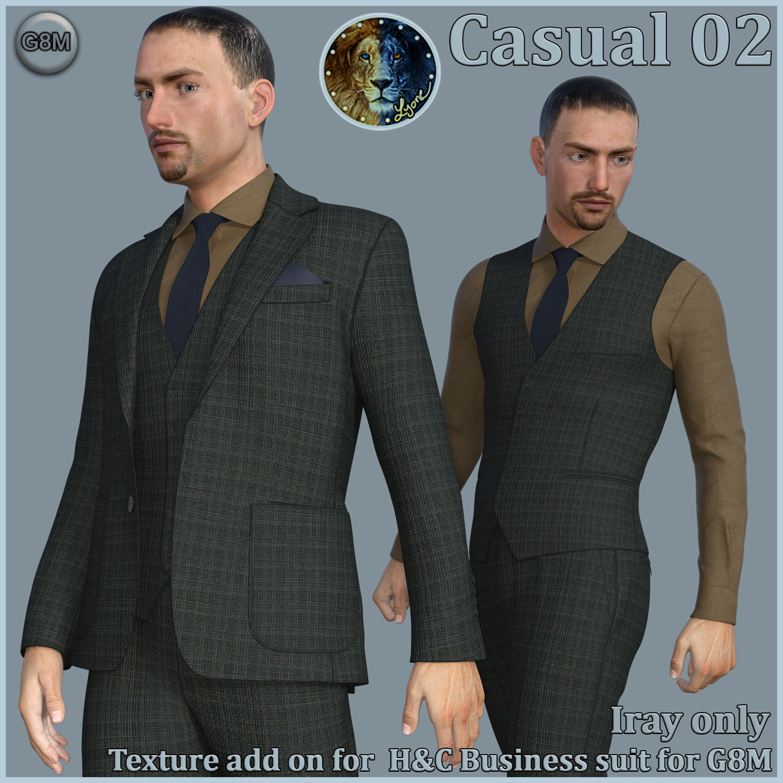 Casual 02 for H and C Business Suit for G8M