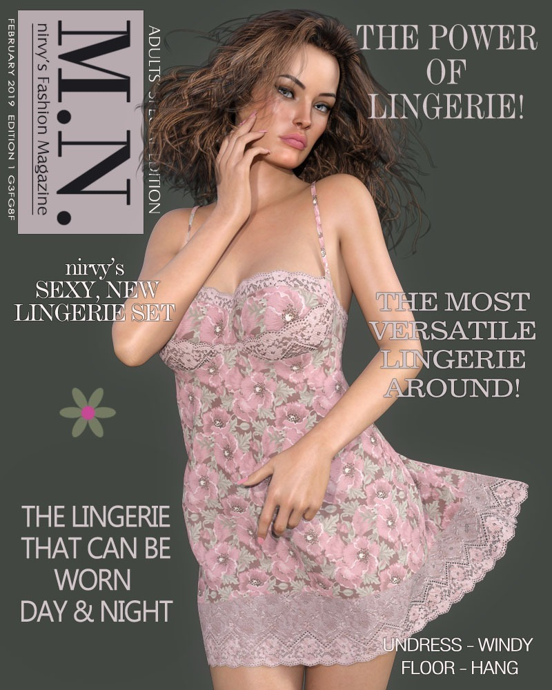 dforce Sweety Lingerie G3G8 by nirvy
