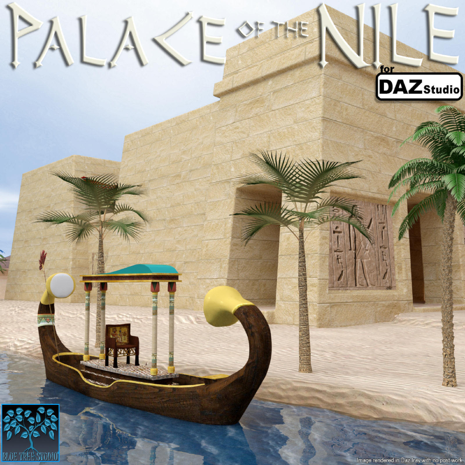 Palace of the Nile for Daz Studio by BlueTreeStudio