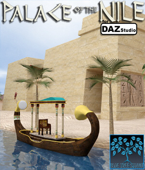 Palace of the Nile for Daz Studio 3D Models BlueTreeStudio