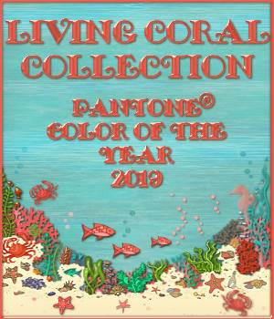 The Living Coral Collection 2D Graphics Merchant Resources fractalartist01
