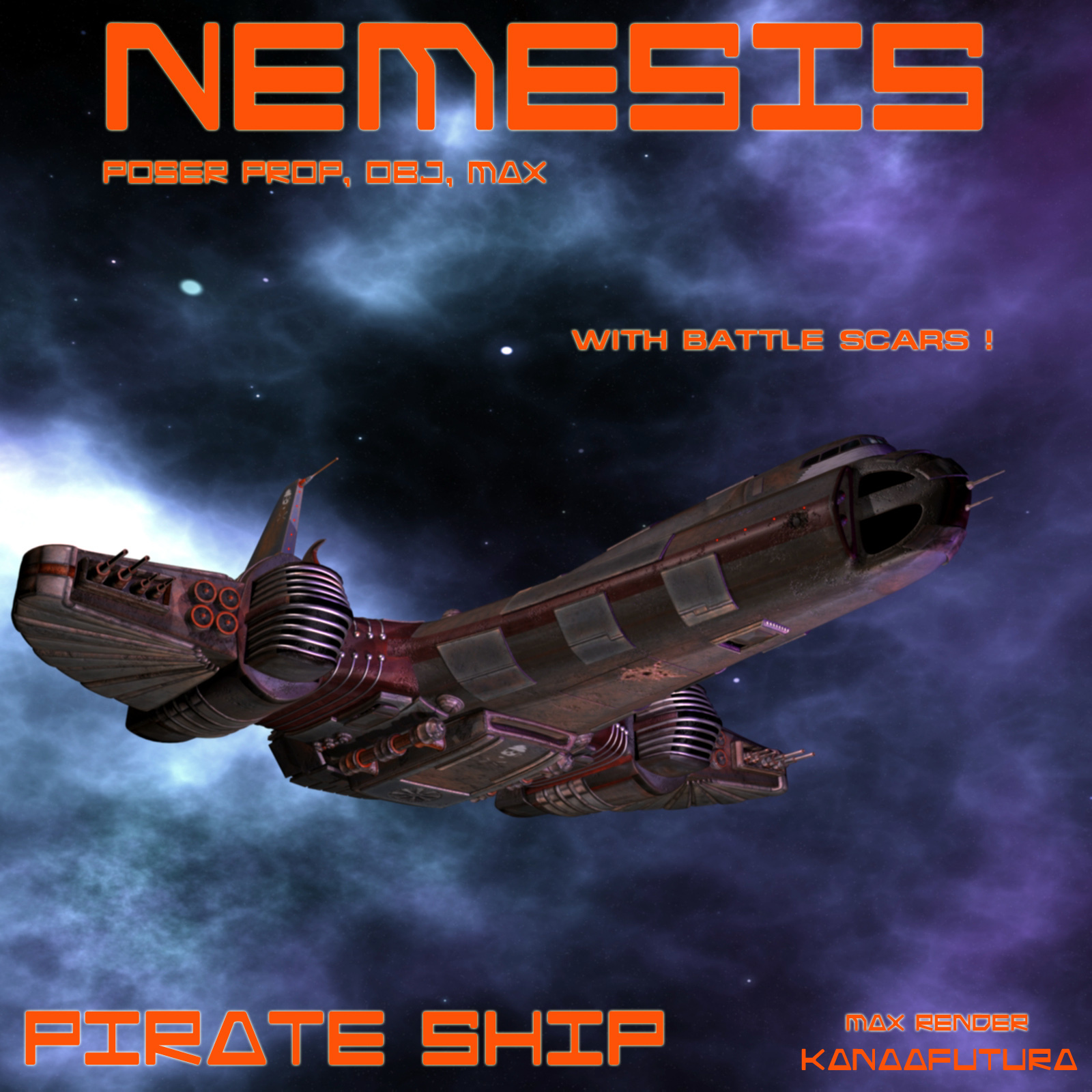 Nemesis Pirate ship