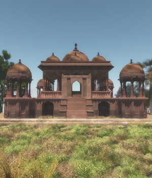 Battis Khamba Chattri for Vue 3D Models judyk
