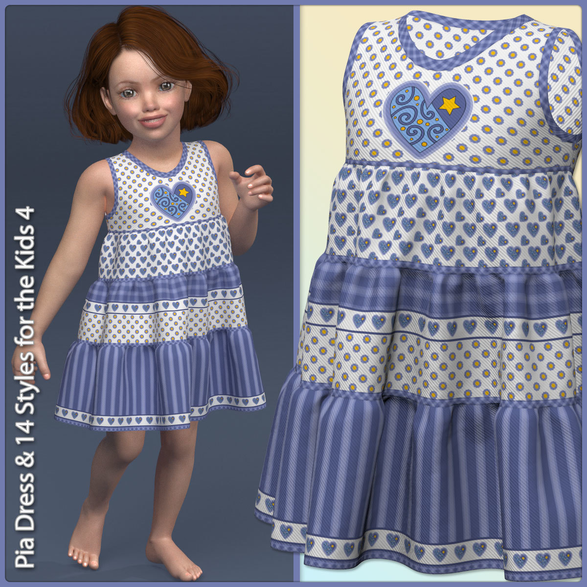 Pia Dress and 14 Styles for the Kids 4