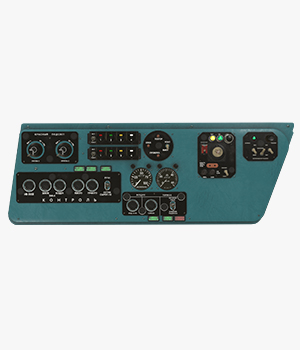 Mi-8MT Mi-17MT Left Side Console Russian - Extended License 3D Game Models : OBJ : FBX 3D Models Extended Licenses pukamakara