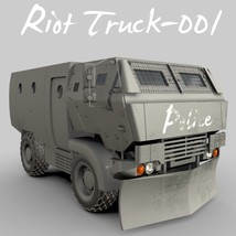Riot Truck-001 -Extended License image 2