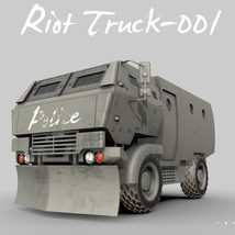 Riot Truck-001 -Extended License image 3