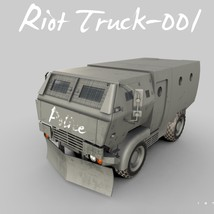 Riot Truck-001 -Extended License image 4
