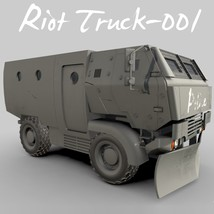 Riot Truck-001 -Extended License image 5