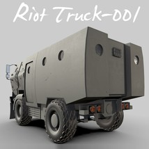 Riot Truck-001 -Extended License image 7