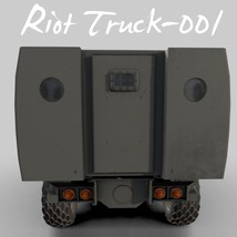 Riot Truck-001 -Extended License image 8